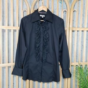 Authentic Burberry Button Down Laced Shirt Career